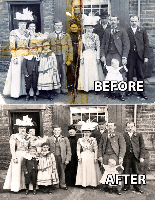 photo restore sheffield